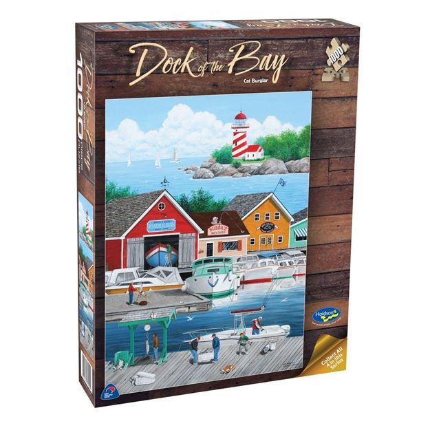 Picture of Holdson Puzzle  - Dock of the Bay 1000pc (Cat Burglar)