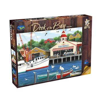 Picture of Holdson Puzzle  - Dock of the Bay 1000pc (Pelican Bay)
