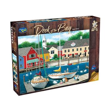 Picture of Holdson Puzzle  - Dock of the Bay 1000pc (Swans Haven)