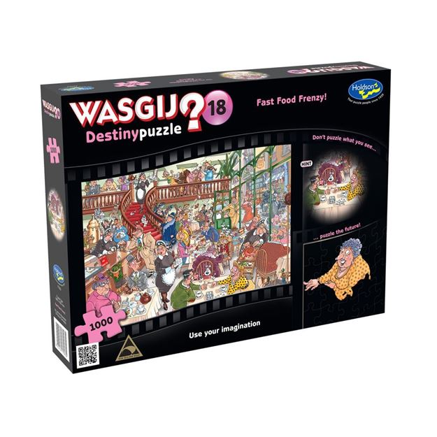 Picture of Holdson Puzzle - Wasgij Destiny 18 1000pc (Fast Food Frenzy)