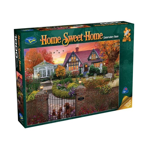 Picture of Holdson Puzzle - Home Sweet Home 1000pc (Conservatory House)
