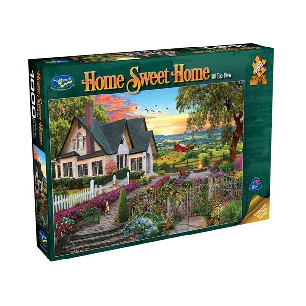 Picture of Holdson Puzzle - Home Sweet Home 1000pc (Hill Top View)