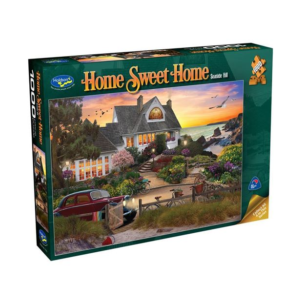 Picture of Holdson Puzzle - Home Sweet Home 1000pc (Seaside Hill)