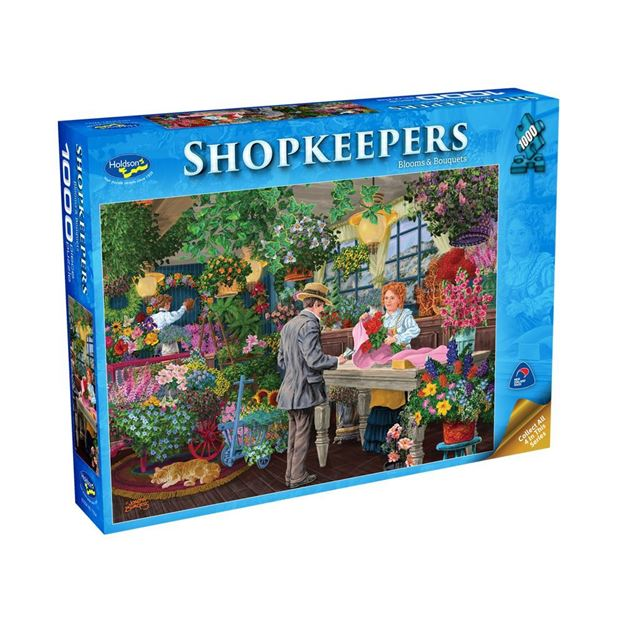 Picture of Holdson Puzzle - Shopkeepers 1000pc (Blooms & Bouquets)