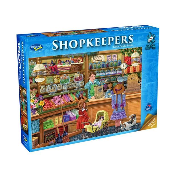 Picture of Holdson Puzzle - Shopkeepers 1000pc (Cary's Candy Treats)