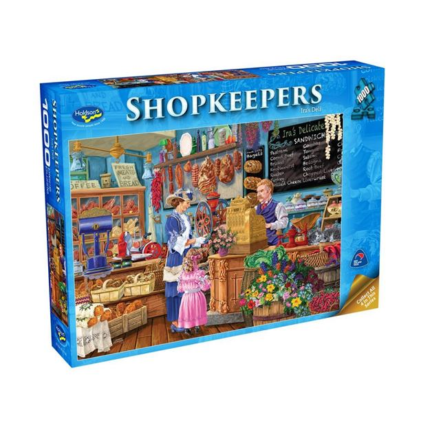 Picture of Holdson Puzzle - Shopkeepers 1000pc (Ira's Deli)