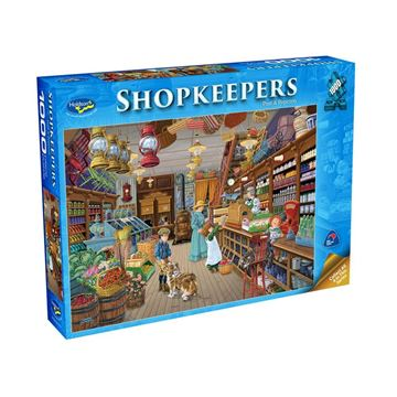 Picture of Holdson Puzzle - Shopkeepers 1000pc (Post & Popcorn)