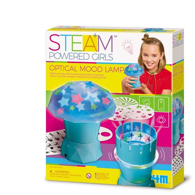 Picture of 4M STEAM Powered Girls - Optical Mood Lamp