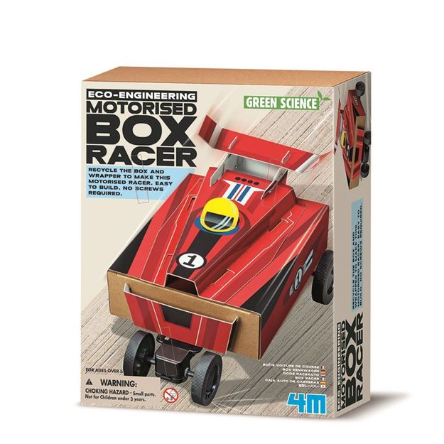 Picture of 4M Science - Motorised Box Racer