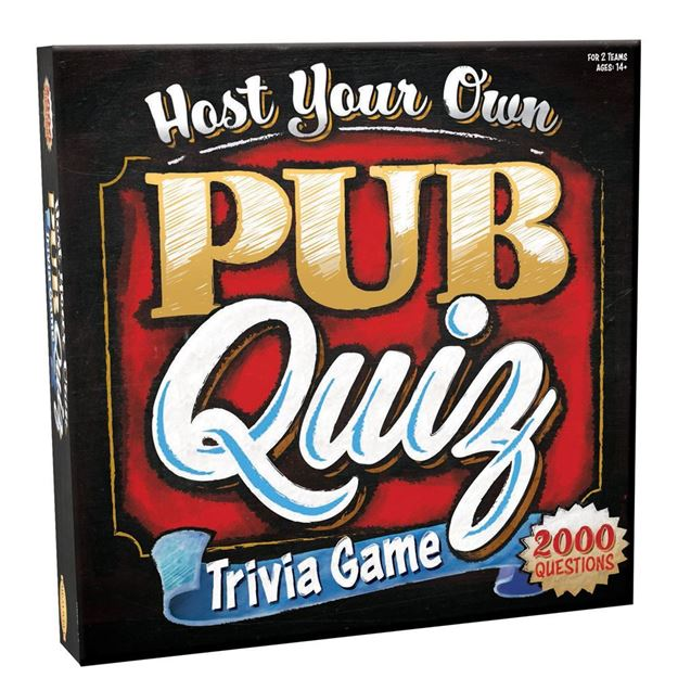 Picture of Host Your Own Pub Quiz Trivia Game