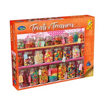 Picture of Holdson Puzzle - Treats & Treasures Series 2 1000pc (Candy Counter)