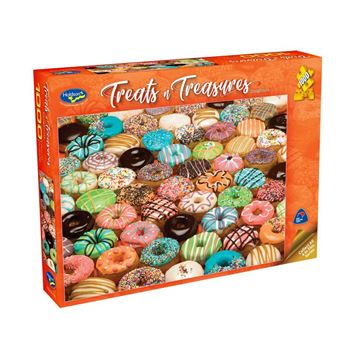 Picture of Holdson Puzzle - Treats & Treasures Series 2 1000pc (Doughnuts)