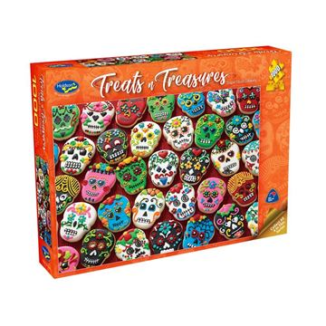 Picture of Holdson Puzzle - Treats & Treasures Series 2 1000pc (Sugar Skull Cookies)