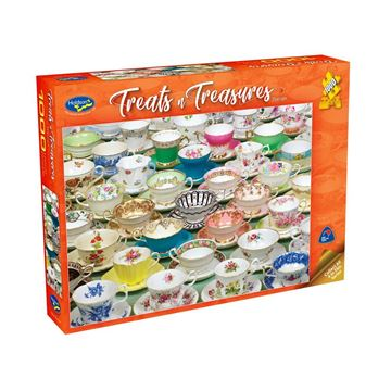 Picture of Holdson Puzzle - Treats & Treasures Series 2 1000pc (Teacups)