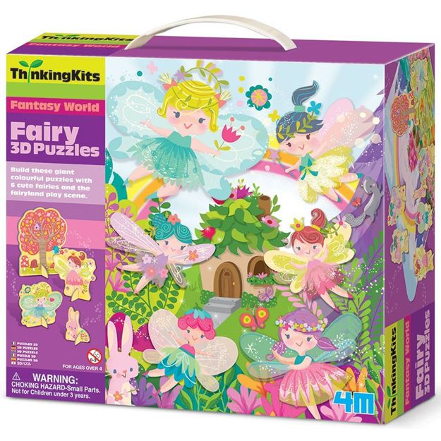 Picture of 4M Thinking Kits - 3D Puzzle - Fairy