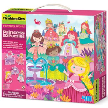 Picture of 4M Thinking Kits - 3D Puzzle - Princess