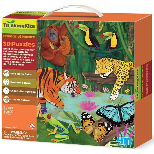 Picture of Thinking Kits - 3D Puzzles - Rainforest
