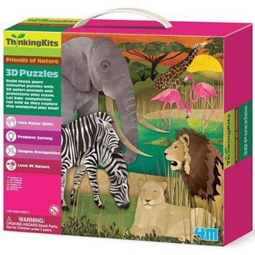 Picture of Thinking Kits - 3D Puzzles - Safari