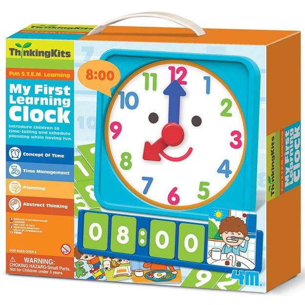 Thinking Kits - Fun S T E M Learning - My First Learning Clock