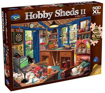 Picture of Holdson Puzzle - The Hobby Sheds 2 500pc XL (A Man Cave)