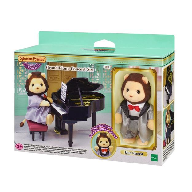 Picture of Sylvanian Families - Grand Piano Concert Set