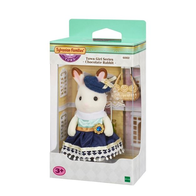 Picture of Sylvanian Families - Town Girl Series (Chocolate Rabbit)
