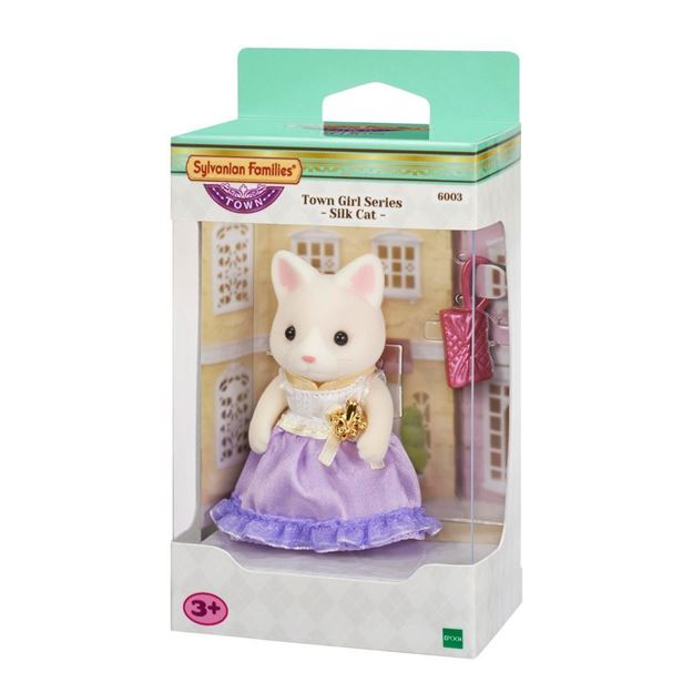Picture of Sylvanian Families - Town Girl Series (Silk Cat)