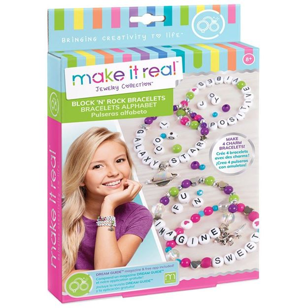 Picture of Make It Real - Block & Rock Charm Bracelet