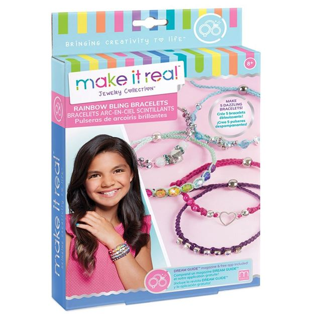 Picture of Make It Real - Rainbow Bling Bracelets