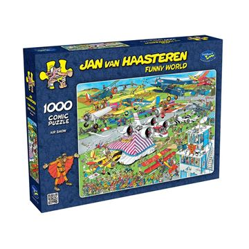 Picture of Holdson Puzzle - Van Haasteren Funny World 1000pc (Air Show)