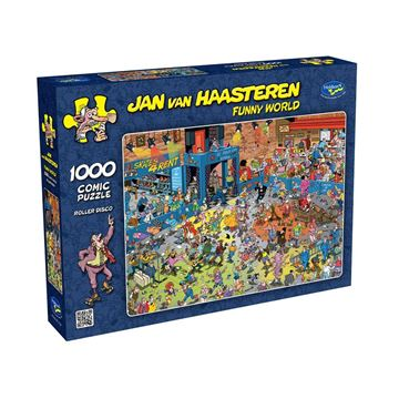 Picture of Holdson Puzzle - Van Haasteren Funny World 1000pc (Roller Disco)