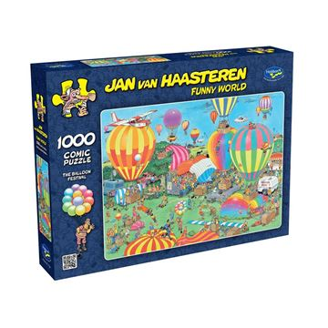 Picture of Holdson Puzzle - Van Haasteren Funny World 1000pc (The Balloon Festival)