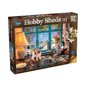 Picture of Holdson Puzzle - The Hobby Sheds III 500pc XL (The Puzzlers Nook)