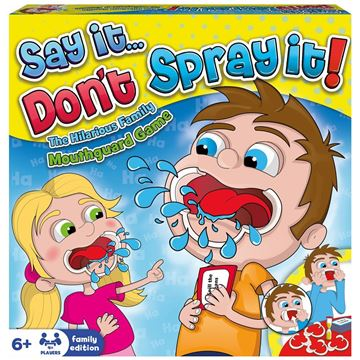 Picture of Say It Don't Spray It Game