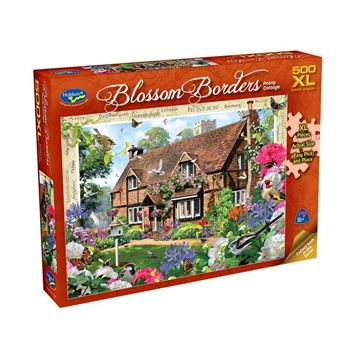 Picture of Holdson Puzzle - Blossom Borders 500pc XL (Peony Cottage)