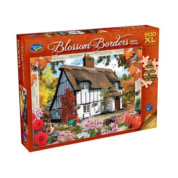 Picture of Holdson Puzzle - Blossom Borders 500pc XL (Sedum Cottage)
