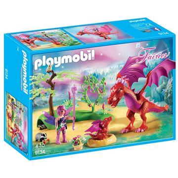 Picture of Playmobil - Friendly Dragon with Baby