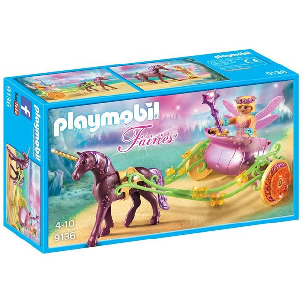 Picture of Playmobil - Unicorn Drawn Fairy Carriage
