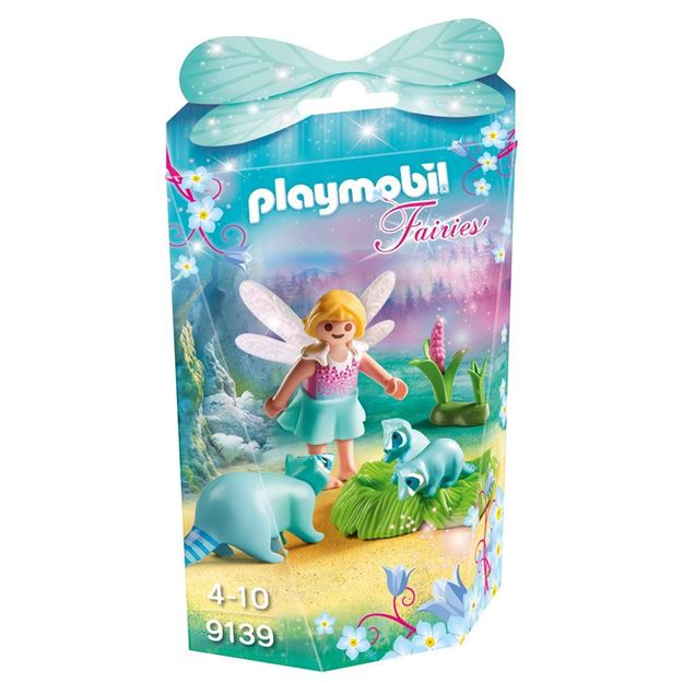 Picture of Playmobil - Fairy Girl with Raccoons
