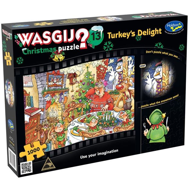 Picture of Holdson Puzzle - Wasgij Christmas 13 1000pc (Turkey's Delight!)