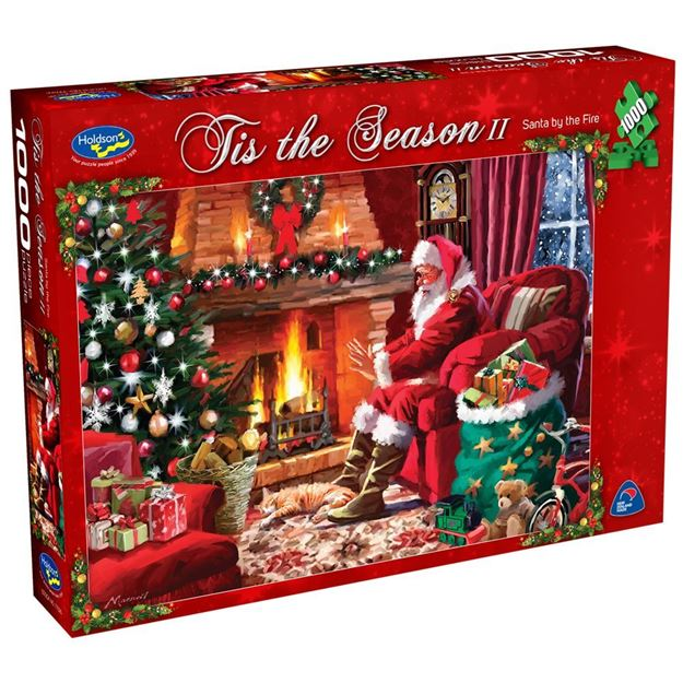 Picture of Holdson Puzzle - Tis The Season II (Santa By The Fire)
