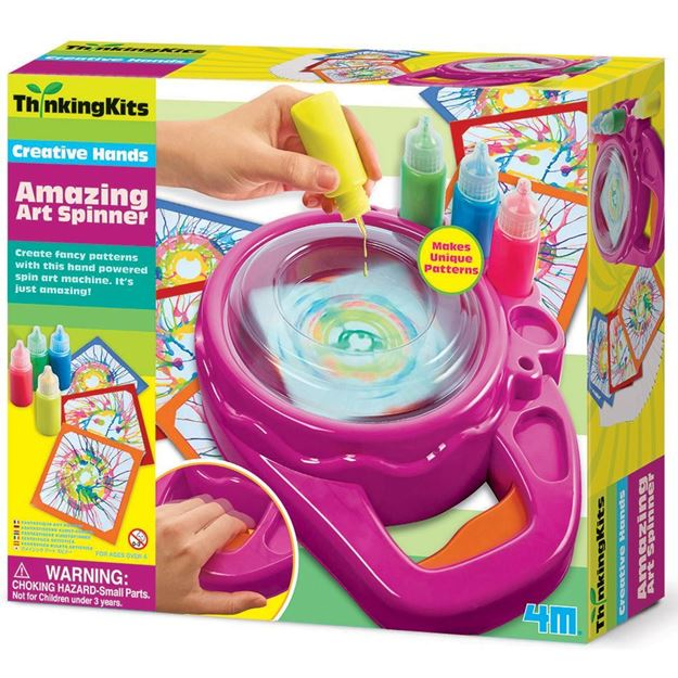 Picture of Thinking Kits - Creative Hands - Amazing Art Spinner