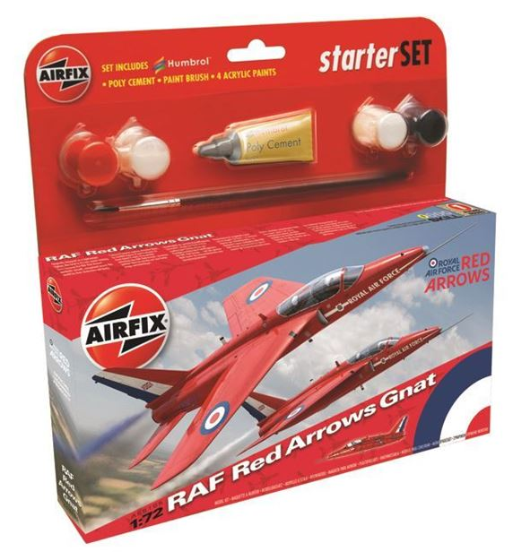 Picture of Airifx - Starter Kits - Small - RAF Red Arrows Gnat