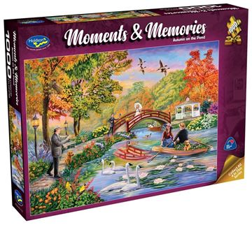 Picture of Holdson Puzzle - Moments & Memories (Autumn on the Pond)