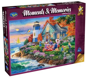 Picture of Holdson Puzzle - Moments & Memories (Lighthouse Picnic)