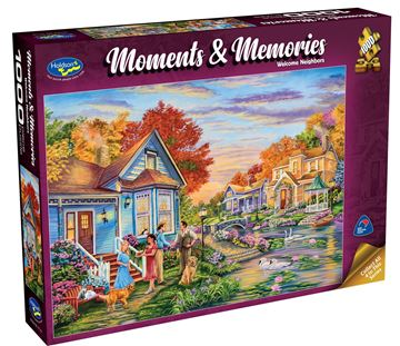 Picture of Holdson Puzzle - Moments & Memories (Welcome Neighbors)