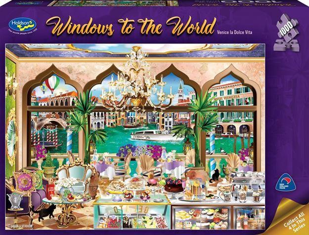Picture of Holdson Puzzle  - Windows to the World - (Venice la Dolce Vita)