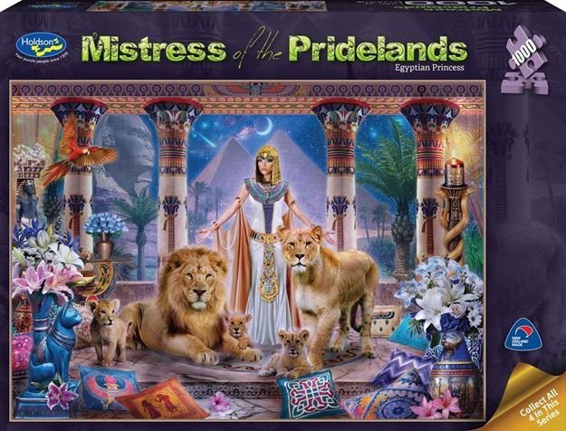 Picture of Holdson Puzzle - Mistress of the Pridelands (Egyptian Princess)