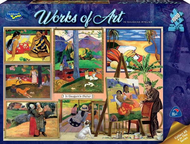 Picture of Holdson Puzzle - Works of Art (In Gauguin's Atelier)