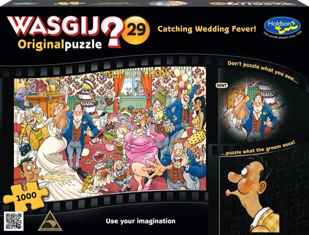 Picture of Holdson Puzzle - Wasgij Original 29 1000pc (Catching Wedding Fever)